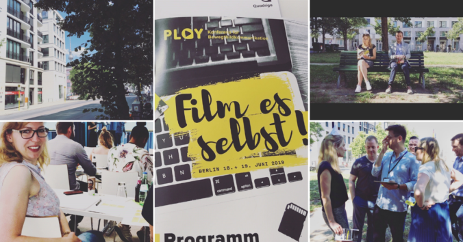 Collage Play Konferenz